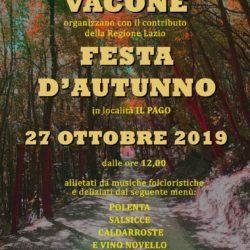 VACONE - Festa d'Autunno - 27 Ottobre