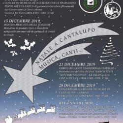 Natale a Cantalupo Musica,Canti...