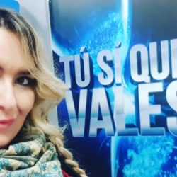 A Tu si que vales Emanuela Petroni l'attrice comica di Rieti con MARIA DE FILIPPI, GERRY SCOTTI, RUDY ZERBI, TEO MAMMUCARI e SABINA FERILLI