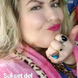 """L'attrice Emanuela Petroni nel videoclip ufficiale di ACHILLE LAURO per la canzone """"Me ne Frego"""" di Sanremo 2020"""