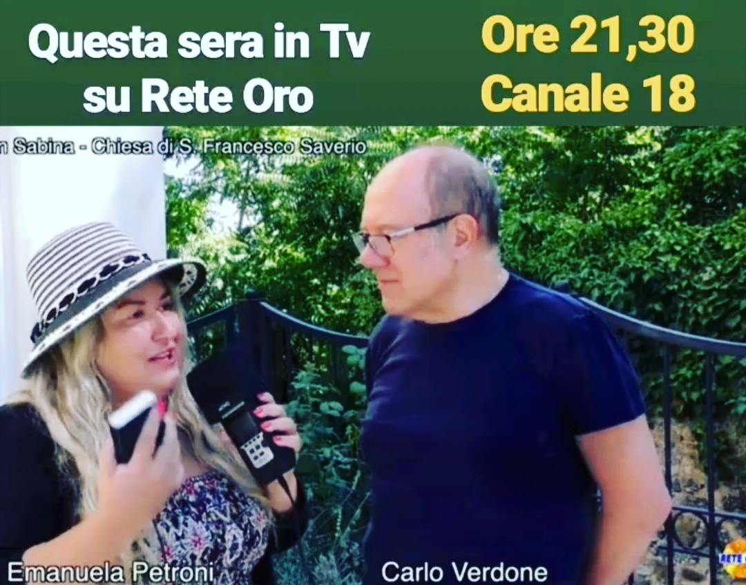 In DIRETTA... Emanuela Petroni presenta ANIME di CARTA in TV