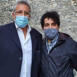 Pasquale Sciandra con Lucio Presta a Contigliano