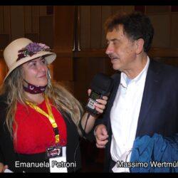 MASSIMO WERTMÜLLER intervistato da Emanuela Petroni in TV su Canale Italia 11 per Pet Carpet Film Festival - Lunedì 9 Novembre