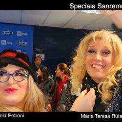 MARIA TERESA RUTA del GRANDE FRATELLO VIP intervistata da Emanuela Petroni in TV su Canale Italia 11