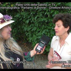 Emanuela Petroni intervista Eleonora Farneti l'Assessore alla Cultura di Cantalupo in Sabina