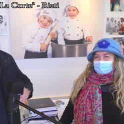 Emanuela Petroni presenta in TV su CANALE ITALIA 11 Elia Grillotti chef di RIETI