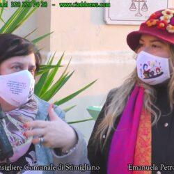 Emanuela Petroni presenta in TV su CANALE ITALIA 11 Paola Montali consigliere del comune di Stimigliano (Rieti)