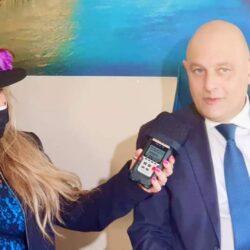 CLAUDIO VALENTINI Assessore del Comune di RIETI in TV intervistato da Emanuela Petroni su Canale Italia 11