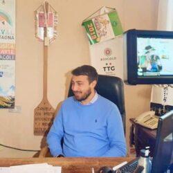 DANIELE  SINIBALDI Vicesindaco e Assessore alle Attività Produttive e Turismo in TV intervistato da Emanuela Petroni su Canale Italia 11