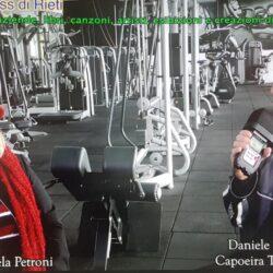 Emanuela Petroni presenta in TV su Canale Italia 11 DANIELE MARIANTONI sportivo e Imprenditore di Rieti - Topazio Capoeira e Infinity Wellness