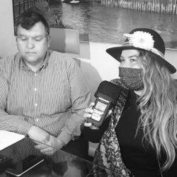 Emanuela Petroni presenta in TV su Canale Italia 11 MAURIZIO  RAMACOGI - Consigliere Delegato all'Ambiente della provincia di RIETI
