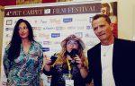 Il grande attore comico ENZO SALVI presentato in TV da Emanuela Petroni
